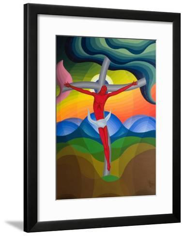 On the Cross, 1992-Emil Parrag-Framed Art Print