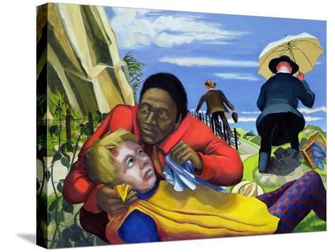 The Good Samaritan, 1994-Dinah Roe Kendall-Stretched Canvas Print