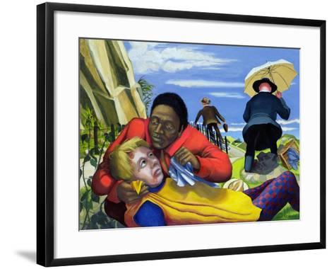 The Good Samaritan, 1994-Dinah Roe Kendall-Framed Art Print