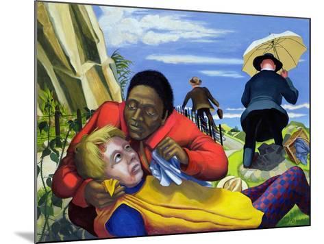 The Good Samaritan, 1994-Dinah Roe Kendall-Mounted Giclee Print