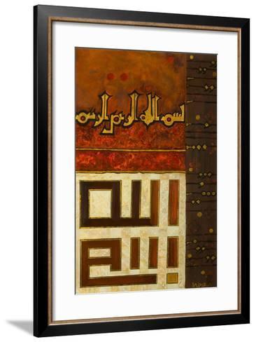 Nina Ona, 2008-Sabira Manek-Framed Art Print