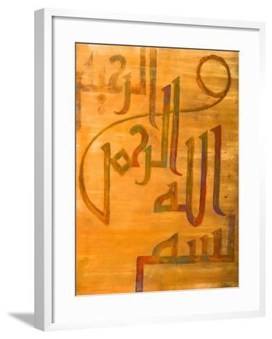 Ona Naha, 2008-Sabira Manek-Framed Art Print