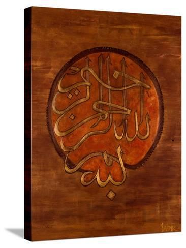 Dini, 2008-Sabira Manek-Stretched Canvas Print