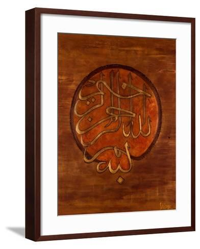 Dini, 2008-Sabira Manek-Framed Art Print
