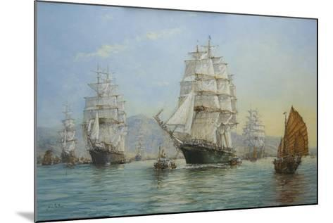 Thermopylae and Cutty Sark Leaving Foochow in 1872, 2008-John Sutton-Mounted Giclee Print