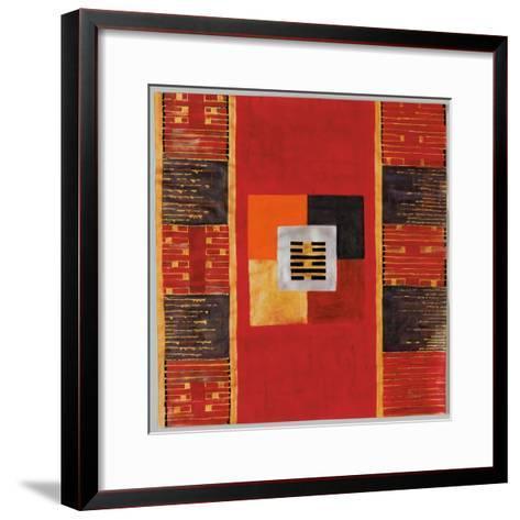Chen, 2005-Sabira Manek-Framed Art Print