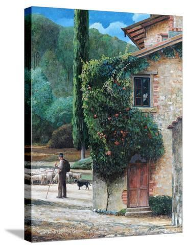 Shepherd, Peralta, Tuscany, 2001-Trevor Neal-Stretched Canvas Print