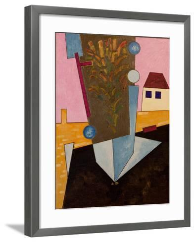 After Sunset, the Asphalt Goes Abloom, 2007-Jan Groneberg-Framed Art Print