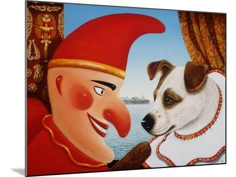 Toby and Punch, 1994-Frances Broomfield-Mounted Giclee Print