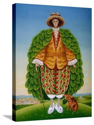 The New Vestments (Ivor Cutler as Character in Edward Lear Poem), 1994-Frances Broomfield-Stretched Canvas Print