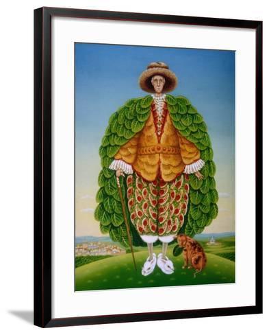 The New Vestments (Ivor Cutler as Character in Edward Lear Poem), 1994-Frances Broomfield-Framed Art Print