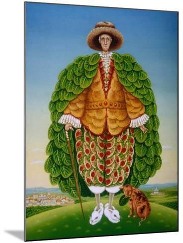 The New Vestments (Ivor Cutler as Character in Edward Lear Poem), 1994-Frances Broomfield-Mounted Giclee Print