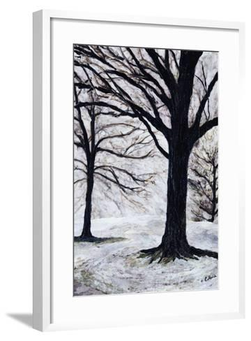 Winter Trees, Greenwich Park, 2004-Ellen Golla-Framed Art Print