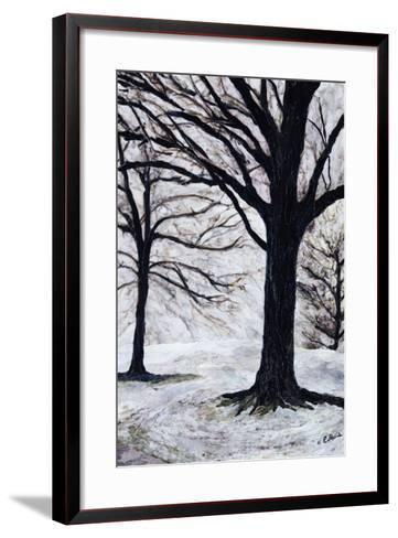 Winter Trees, Greenwich Park, 2004-Ellen Golla-Framed Art Print