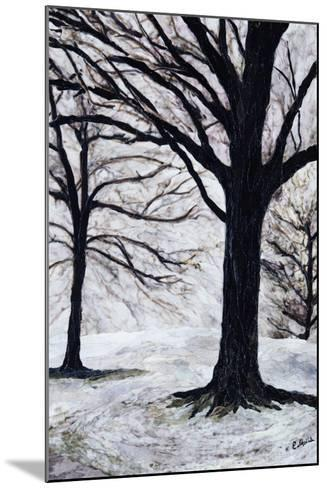 Winter Trees, Greenwich Park, 2004-Ellen Golla-Mounted Giclee Print