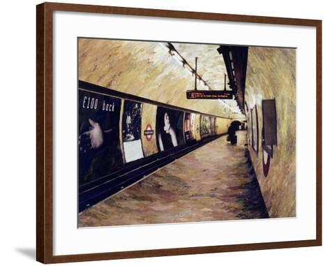 All Trains Go to King's Cross St Pancras, 2004-Ellen Golla-Framed Art Print