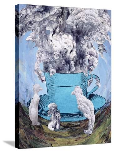 Afternoon Tea, 2003-Ellen Golla-Stretched Canvas Print