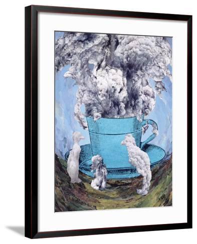 Afternoon Tea, 2003-Ellen Golla-Framed Art Print