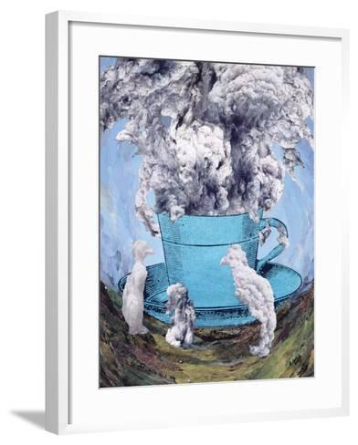 Afternoon Tea, 2003-Ellen Golla-Framed Art Print