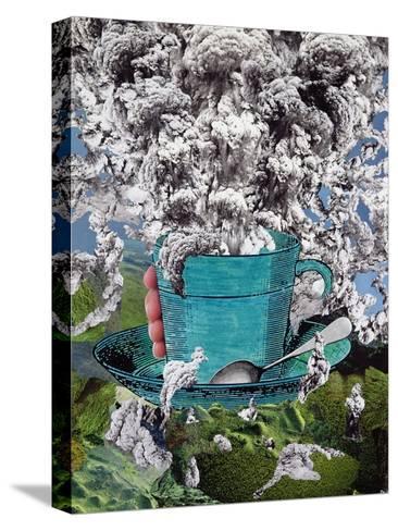 Morning Coffee, 1994-Ellen Golla-Stretched Canvas Print