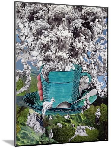 Morning Coffee, 1994-Ellen Golla-Mounted Giclee Print