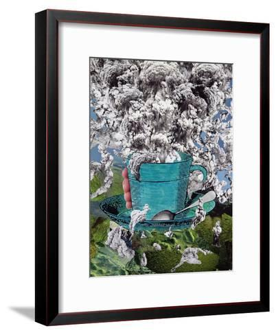 Morning Coffee, 1994-Ellen Golla-Framed Art Print