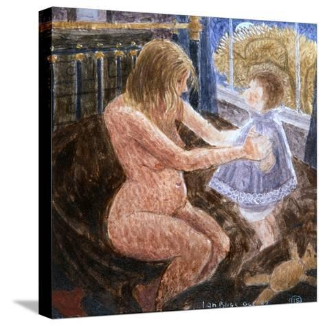 Jill with Anne-Ian Bliss-Stretched Canvas Print