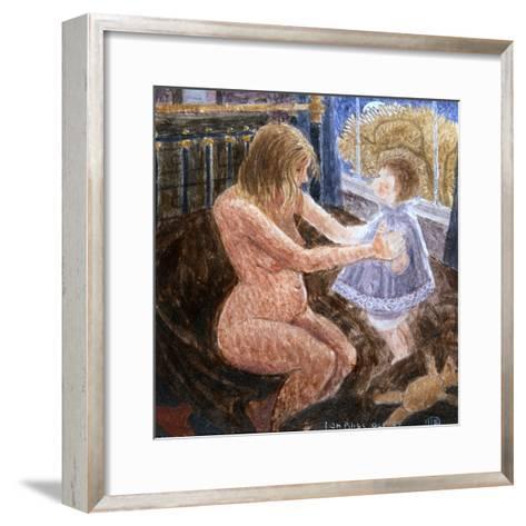Jill with Anne-Ian Bliss-Framed Art Print