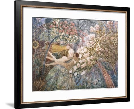 Dreaming, 1990-Ian Bliss-Framed Art Print