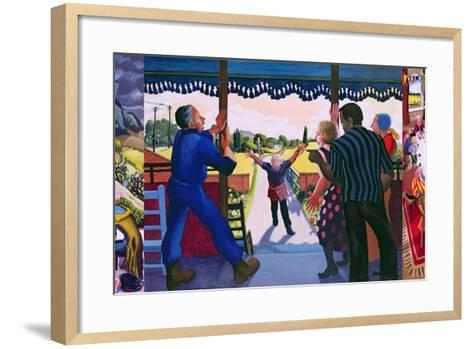 Triptych of the Prodigal Son's Return, 2005-Dinah Roe Kendall-Framed Art Print