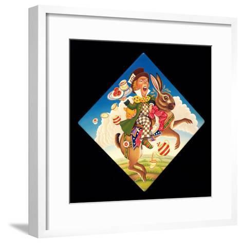 A Mad Tea Party, 2008-Frances Broomfield-Framed Art Print