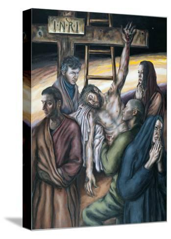 Stations of the Cross XIII: Jesus Taken Down from the Cross, 2008-Chris Gollon-Stretched Canvas Print