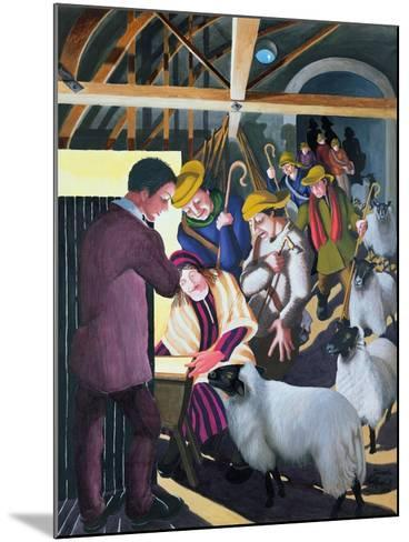 The Shepherds Went to See the Baby, 1998-Dinah Roe Kendall-Mounted Giclee Print