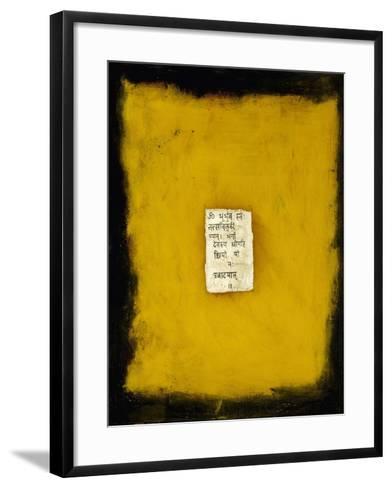 Blessings, 2007-Faiza Shaikh-Framed Art Print