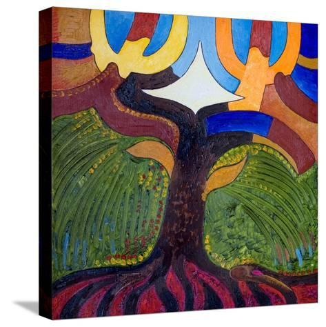 The Tree of Knowledge, 2007-Jan Groneberg-Stretched Canvas Print