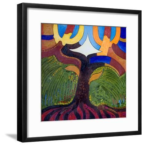 The Tree of Knowledge, 2007-Jan Groneberg-Framed Art Print