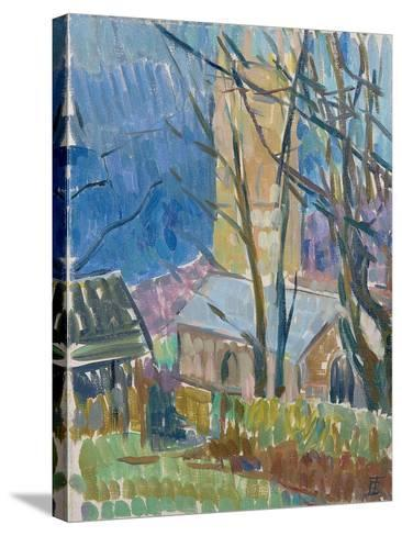 Reverend Hawker's Church at Morwenstow III-Erin Townsend-Stretched Canvas Print