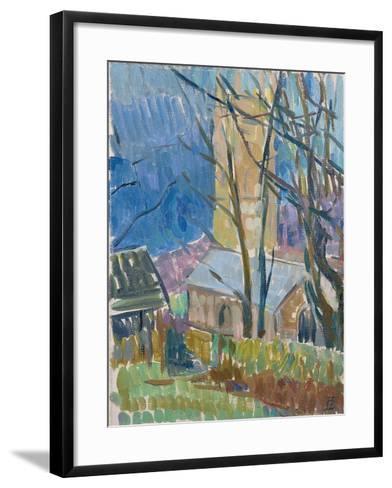 Reverend Hawker's Church at Morwenstow III-Erin Townsend-Framed Art Print