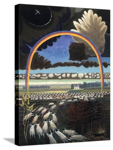 The Rainbow, 2005-Ian Bliss-Stretched Canvas Print