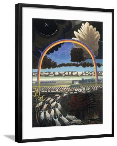 The Rainbow, 2005-Ian Bliss-Framed Art Print