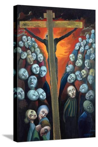 Crucifixion, 1998-Dinah Roe Kendall-Stretched Canvas Print