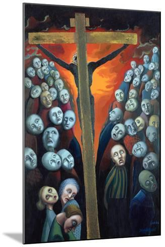 Crucifixion, 1998-Dinah Roe Kendall-Mounted Giclee Print