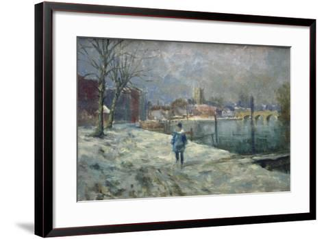 Henley-On-Thames, 1981-Vic Trevett-Framed Art Print