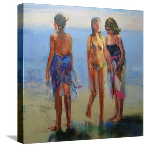Featherskins, 2008-Daniel Clarke-Stretched Canvas Print