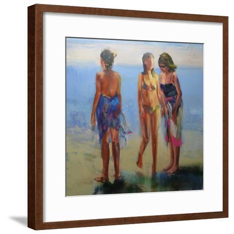 Featherskins, 2008-Daniel Clarke-Framed Art Print