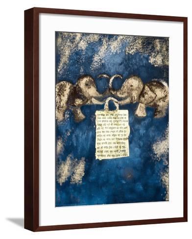 Fortune, 2007-Faiza Shaikh-Framed Art Print
