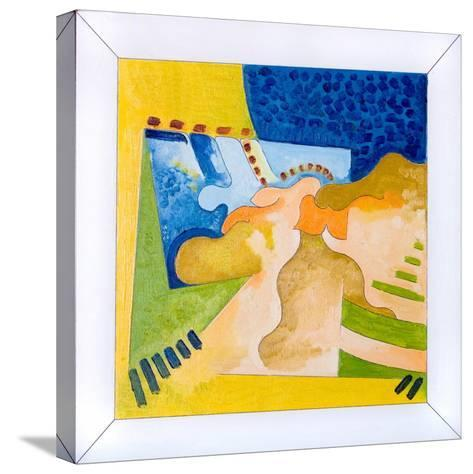 Biological Forms in a Square Within a Square, 2006-Jan Groneberg-Stretched Canvas Print