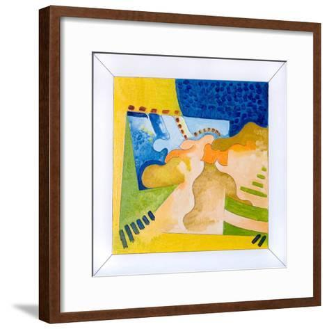 Biological Forms in a Square Within a Square, 2006-Jan Groneberg-Framed Art Print