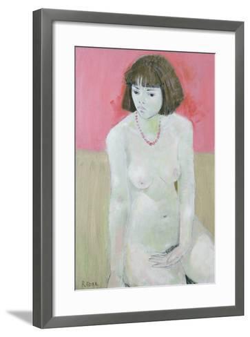 Red Necklace, 1995-Endre Roder-Framed Art Print
