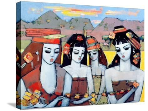 Four from Ys, 2004-Endre Roder-Stretched Canvas Print